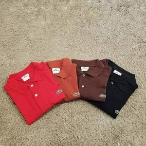 Men's Lacoste Shirts (4 pieces)